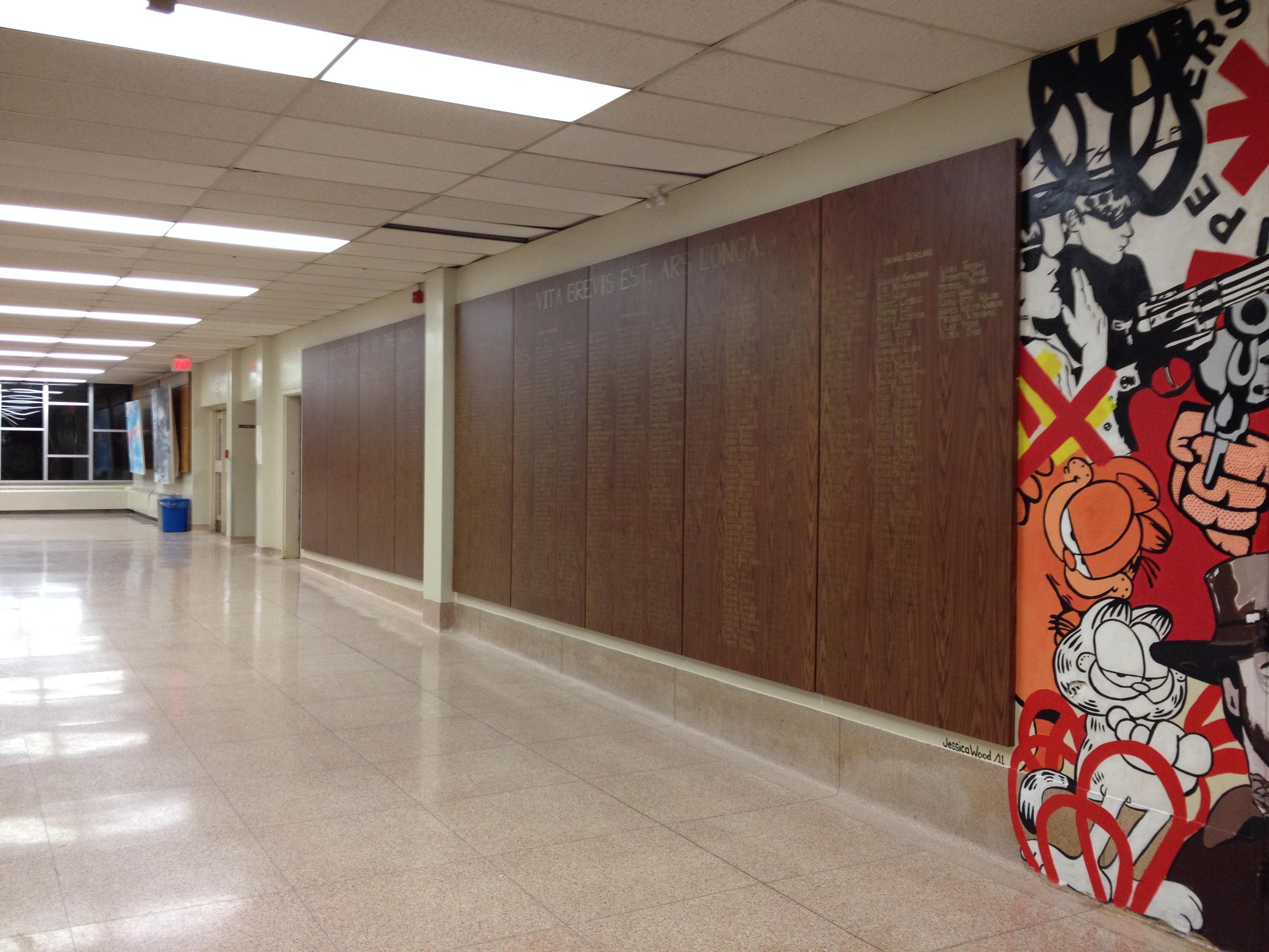 Auditorium hallway 2