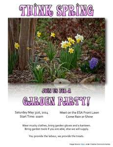 May 2014 garden party