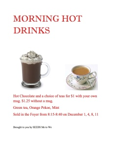 MORNING HOT DRINKS poster