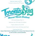 Toronto Sing Poster v2