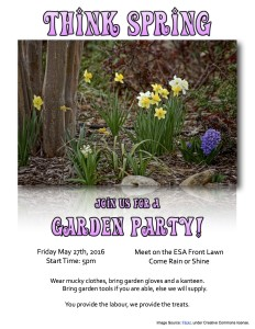 May 2016 garden party