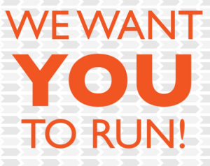 we want you to run