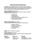 ESA Film Evaluation Criteria – Grade 10