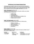 ESA Film Evaluation Criteria – Grade 11 and 12