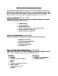 ESA Film Evaluation Criteria – Grade 9