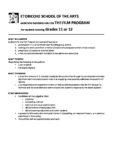 Film Grades 11 and 12 2020