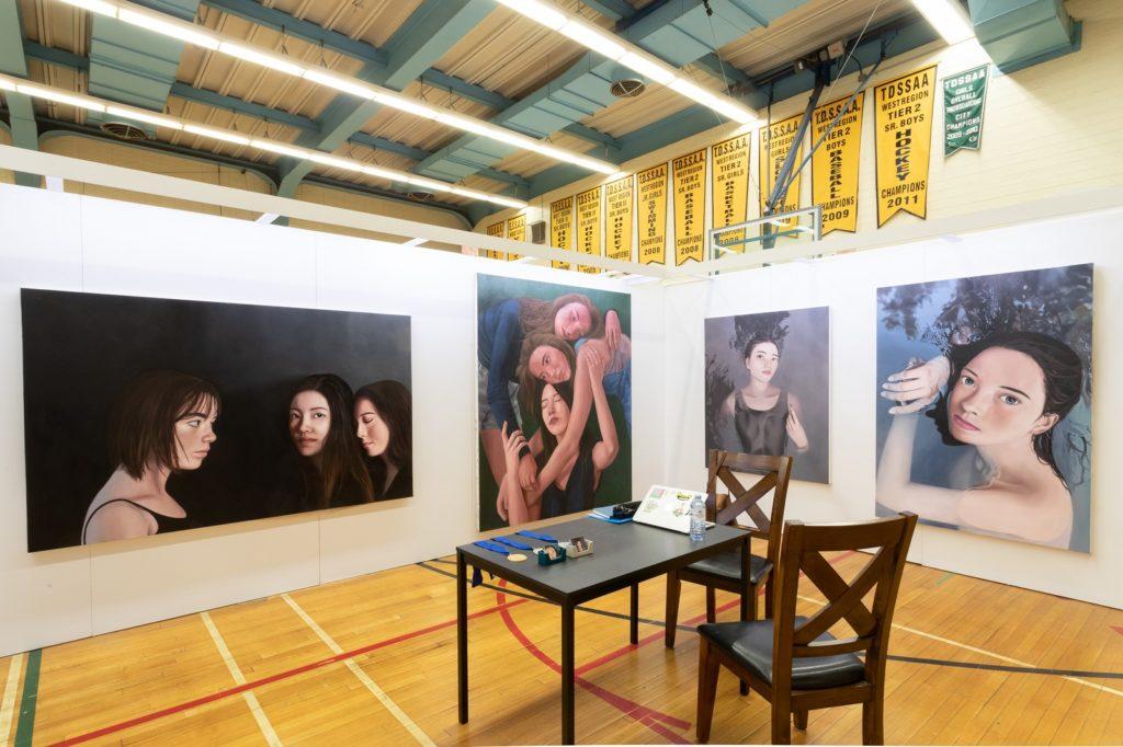 Grace Qian at Portfolio Day 10